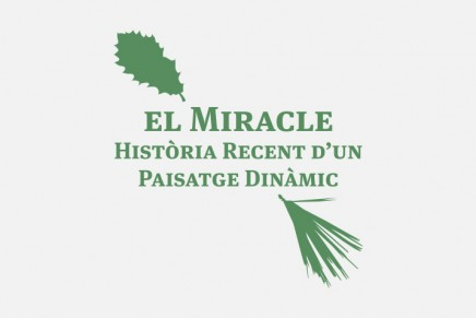 """Presentació del projecte interpretatiu """"El Miracle. Història recent d'un paisatge dinàmic"""""""